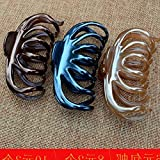Hair clip claw bath hairpin hairpin gripper grasping hair clip catch large super large size Hair pan head ornaments for women girl lady