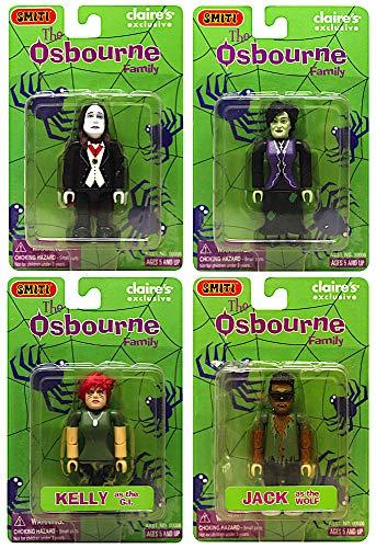 Osbourne Family in Costume Complete Set of 4 Mini Figures 3