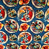 Country Snuggles Valance/Curtain panel Skylanders blue (Pillow Cover 16' x 16')