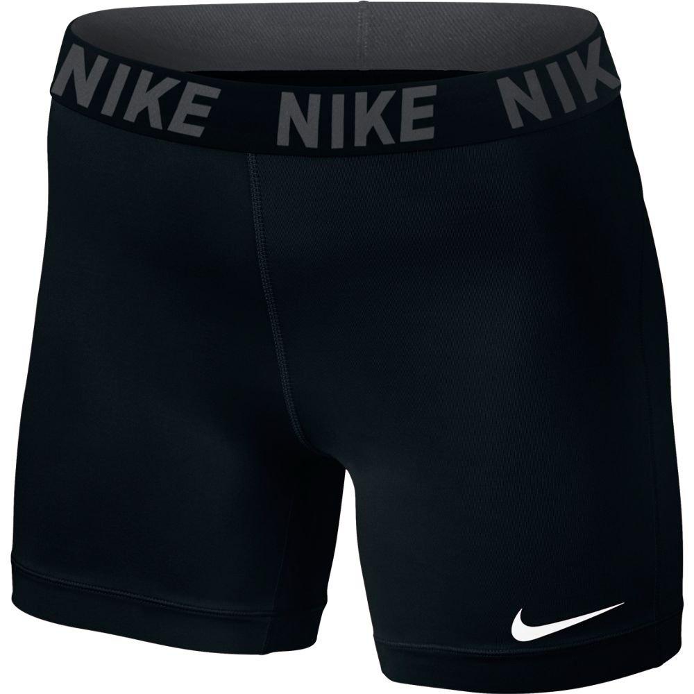 Women's Nike Victory Base Layer 5'' Training Shorts,Black/Black/White,Small