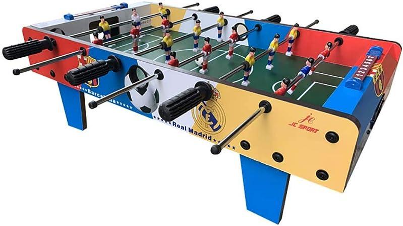 ZHJIUXING ZQ Portátil Futbolín de Mesa Juego Mesa de Fútbol Madera para Competiciones Individuales o Juegos de Grupo Regalo para niños: Amazon.es: Deportes y aire libre