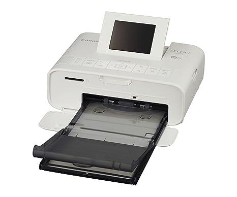 Canon SELPHY CP1200 - Impresora fotográfica (sublimación de tintas, WiFi, USB 2.0, PictBridge), blanco