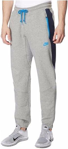 Pantalones de entrenamiento Nike, con forro polar Gris gris/azul ...
