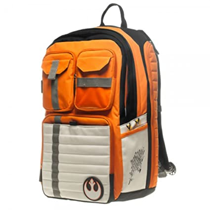 8ce5ec259c3a Star Wars Rebel Alliance Icon/Symbol 100% Polyester Backpack Size: 13