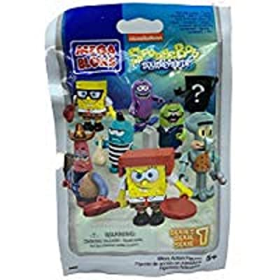 Mega Bloks SpongeBob Squarepants Series 1 Blind Pack Figure: Toys & Games