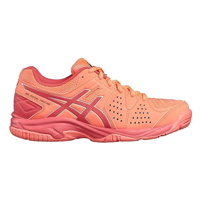 Zapatillas Pádel Asics Gel Padel Pro C505Y 0619 - Color - Coral ...