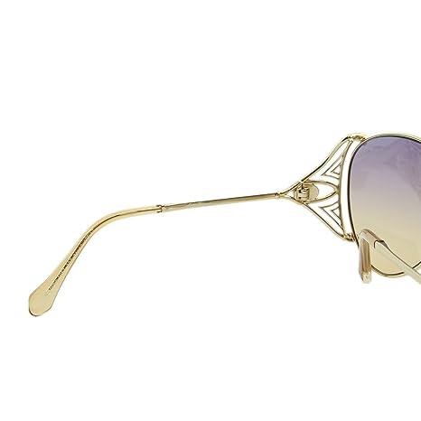 eb6f92cf23 2018 Roberto Cavalli Fucecchio RC-1057 Women Swarovski   Gemstone Aviator  Sunglasses at Amazon Men s Clothing store