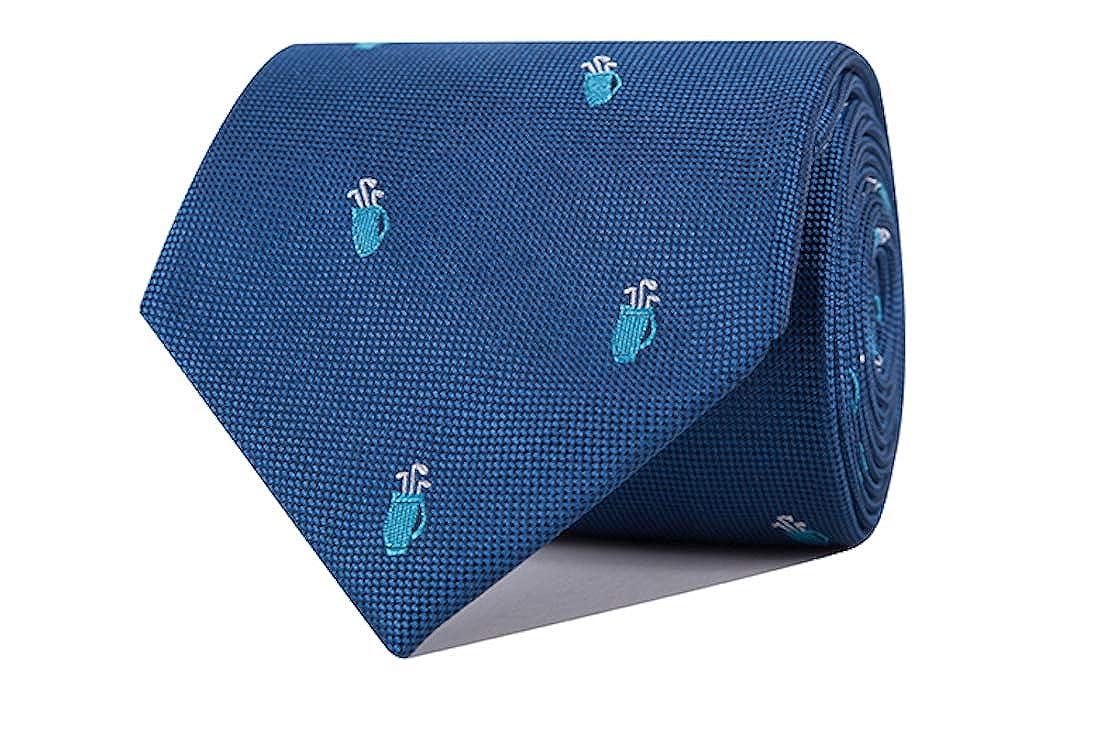 SoloGemelos - Corbata Saco De Golf - Azul - Hombres - Talla Unica ...