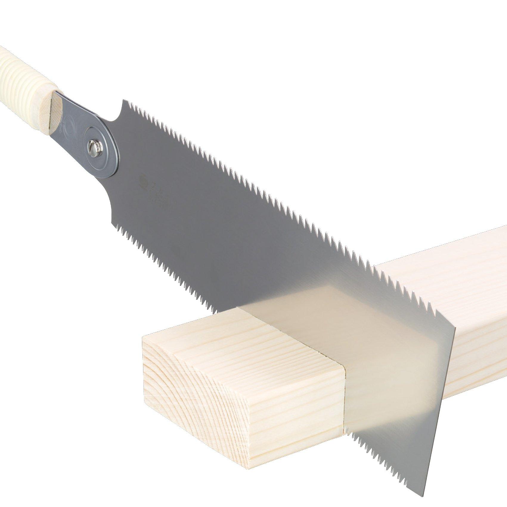 Gyokucho Noko Giri 270mm Double Edge (Ryoba) Razor Saw from Japan Woodworker by Gyokucho (Image #6)
