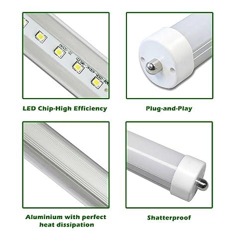 Shanhai Stabantenne T8 T10 T12 8 Fuß LED Röhre Leuchtstoffröhre ...