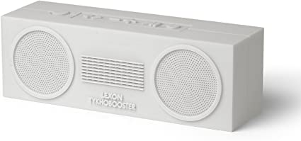 Bluetooth Speaker Silicone Rubber Case Lexon Tykho 3 FM Radio Autonomy 20 Hours 5W Splash Proof IPX4 Pink
