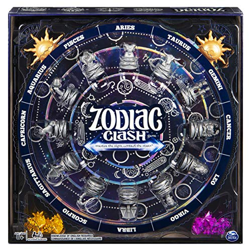 Zodiac Clash, Strategic 3D Solar System Board Game, for 2 or 4 Players Aged 8 & Up