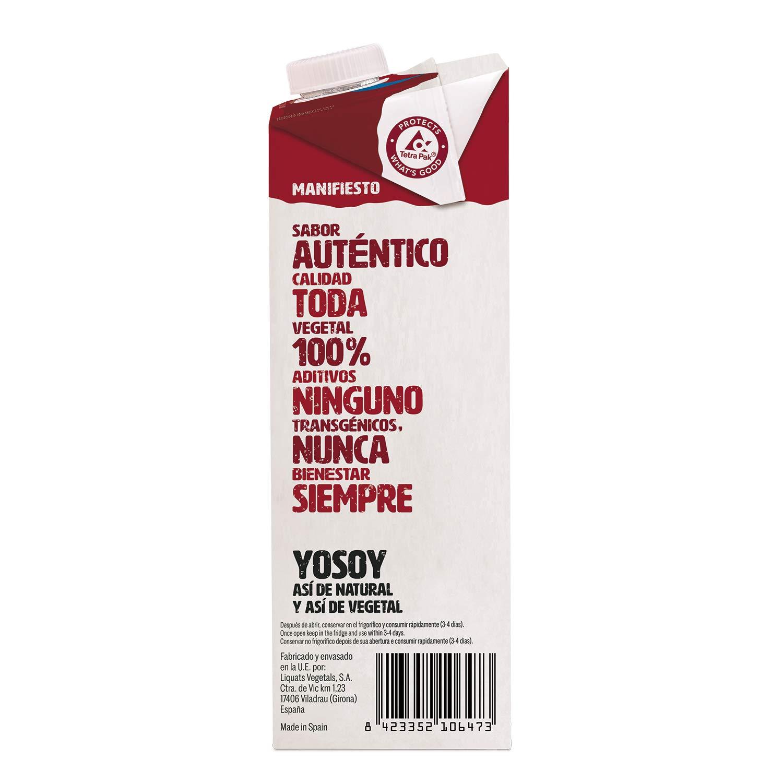 Yosoy - Bebida de Almendras sin Azúcar - Caja de 6 x 1L