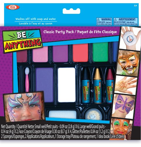 Ideal Face Painting Kit Classic Party Pack ()