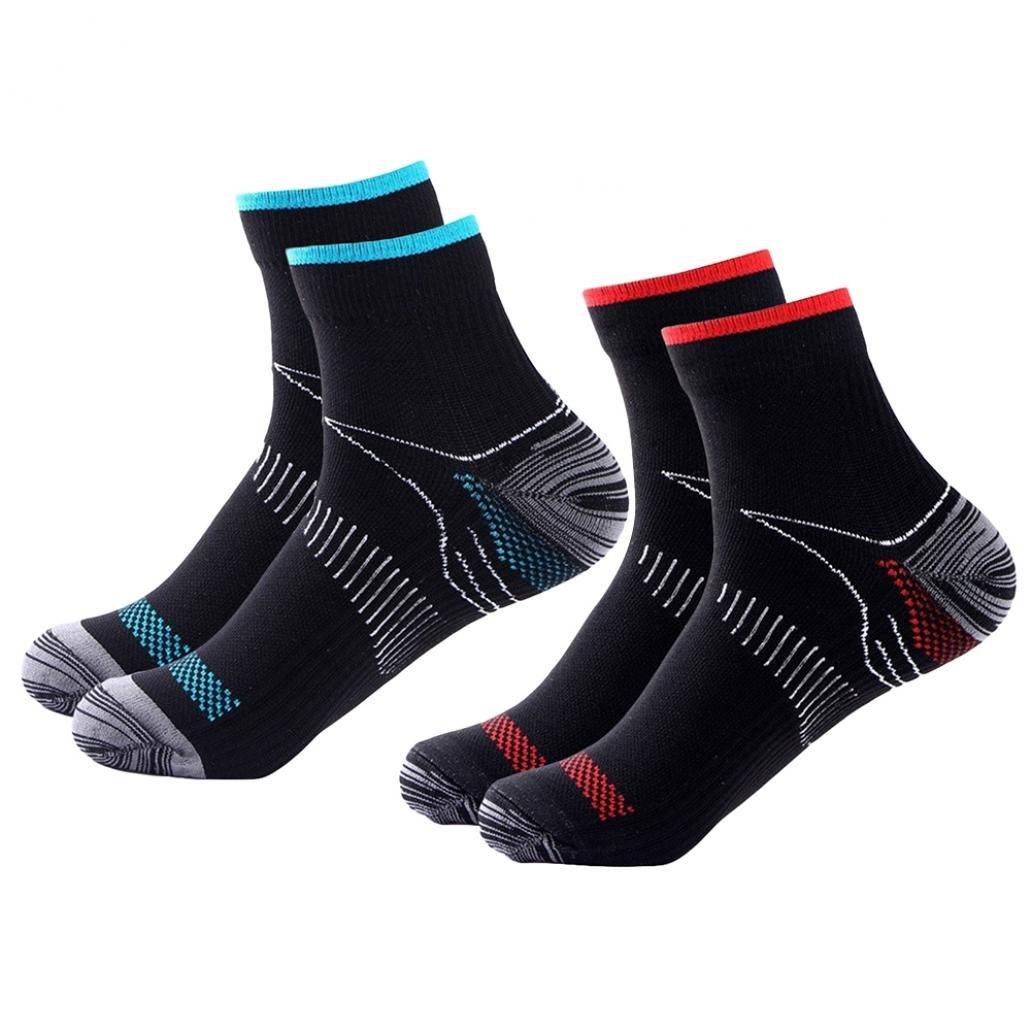 dragonaur Unisex Veins Socks Compression for Plantar Fasciitis Heel Spurs Arch Pain Sports