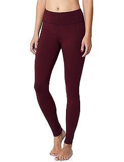 a5642fb42e85 Amazon.com  90 Degree By Reflex High Waist Fleece Lined Leggings ...