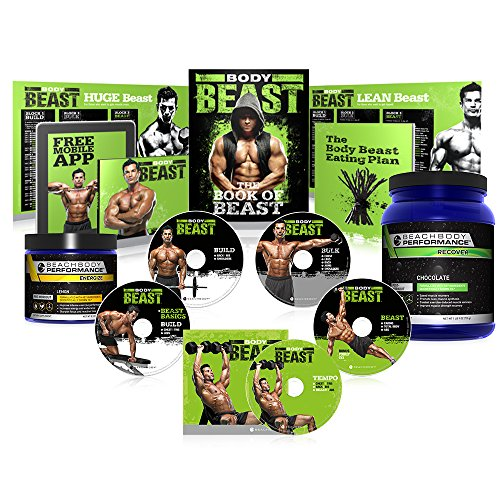 Body Beast Ultimate Kit w/ Beachbody Performance [Energize and Orange Recover] by Beachbody