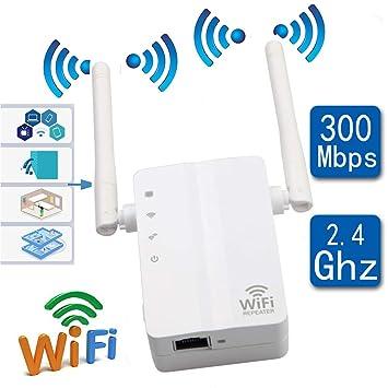 Repetidor De Red WiFi Extensor 300M WiFi Inalámbrico Señal Amplificador Amplificador WiFi Señal Booster