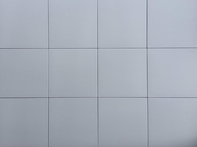 8X8 Soft Grey Matte Porcelain Stoneware Tile Bathroom Kitchen ...