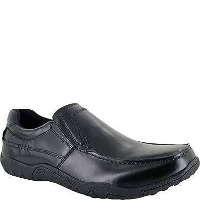 Ambre Mens knut Sandal Sandal Black BugJ23eNr5