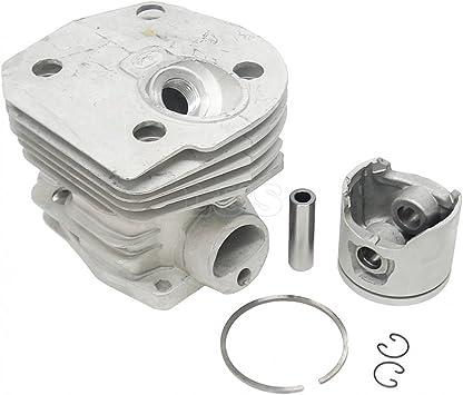44mm Zylinderset Kolben für Husqvarna 346XP 350 351 353 Cylinder piston