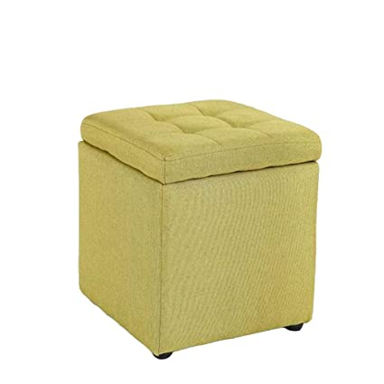 Amazon.com: Storage Stool - Multi-Functional Simple Fabric A ...