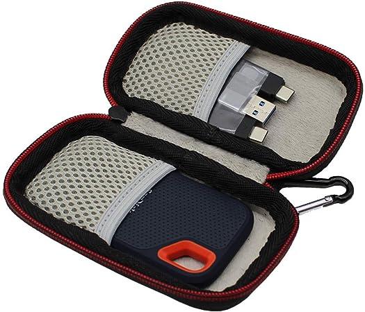 Vivens Hart Tragbar Tasche Case Hülle Für Sandisk Computer Zubehör