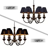 Wellmet Chandelier Shades,ONLY for Candle