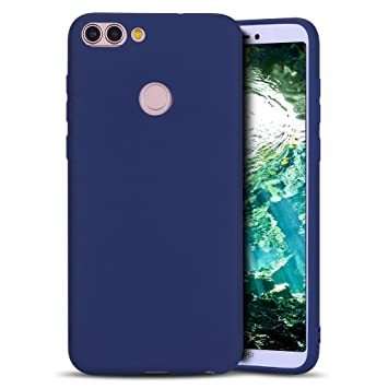 MoEvn Huawei P Smart Funda, Carcasa para Huawei P Smart, Case Cover TPU Suave Silicona, Slim Anti Skid Anti Rasguño Color Gel Funda para Huawei P ...