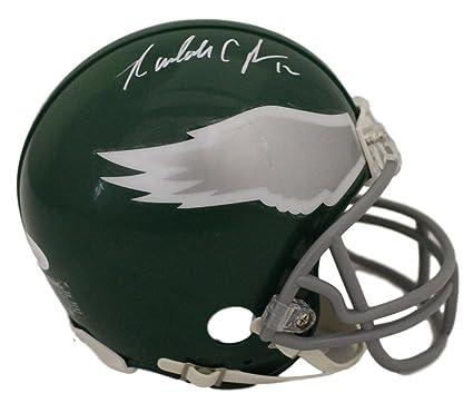 d74a20a7cbb Amazon.com: Randall Cunningham Autographed Philadelphia Eagles Mini ...