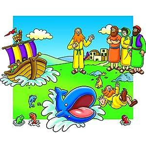 Beginners Bible Story Of Jonah Felt Figures for Flannel Board Stories