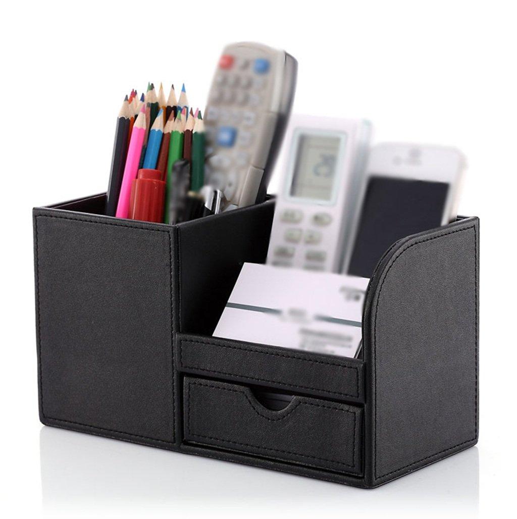 BT Pen-Halter, Aufbewahrungsbox Bürobedarf Multifunktions-Briefpapier Kreatives Business-Geschenk (Farbe   Braun) B06XHWWM8Y     | Spielzeug mit kindlichen Herzen herstellen