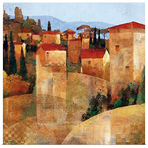 (GREATBIGCANVAS Poster Print Entitled Tuscan Hillside by Keith Mallett 12