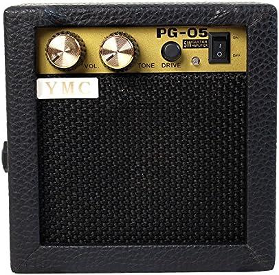 YMC PG-05 - Amplificador de guitarra eléctrica (5 W, amplificador ...