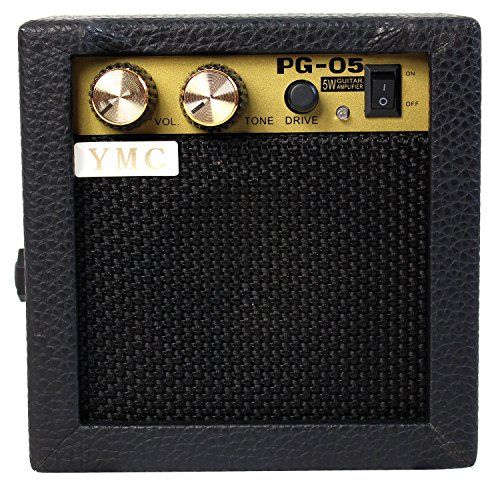 YMC PG-05 5W Electric Guitar Amp Portable Amplifier Speaker with Volume Tone Control by YMC