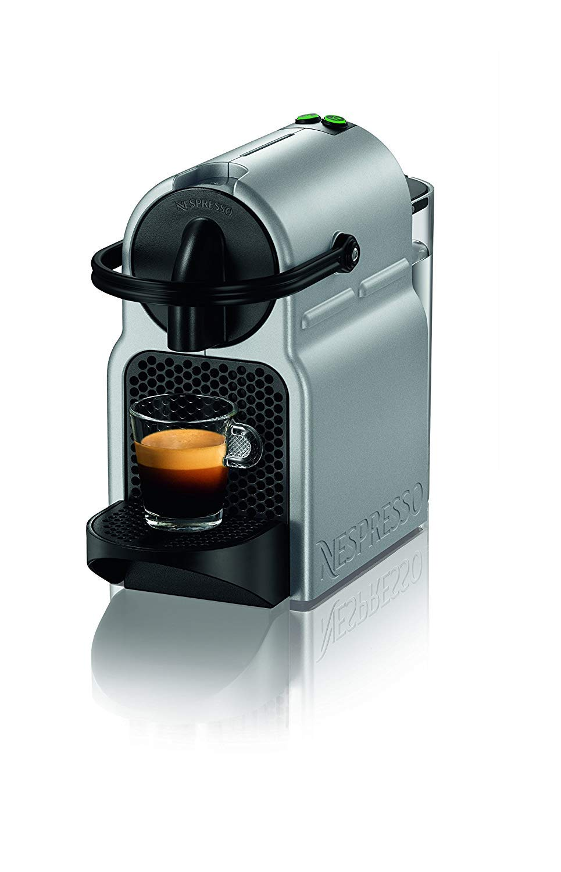 Nespresso by Breville - Inissia Espresso Maker, Silver (Renewed)