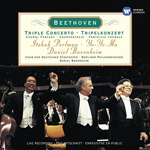 Beethoven - Triple Concerto ~ Choral Fantasy / Perlman, Yo-Yo Ma, Berliner Phil., Barenboim by Warner Classics