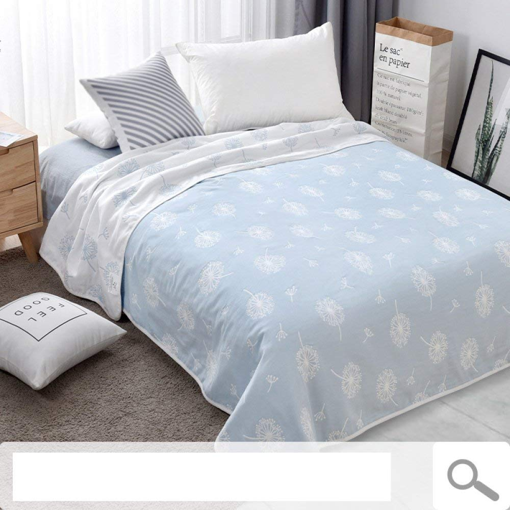 Mabmeiyang 三層タオル毛布、綿シングルエアコン毛布、夏用ガーゼシーツ、夏用大人用毛布 (Color : C, サイズ : 180cm*200cm) B07QSPM1KS C 180cm*200cm