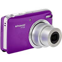 Polaroid iTT28 20 MP/1080p Full HD Compact Digital Camera with 20x Optical Zoom, Large 3.0-Inch LCD Display and Rechargeable Li-Ion Battery - Purple