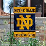 College Flags and Banners Co. Notre Dame Fighting Irish Garden Flag