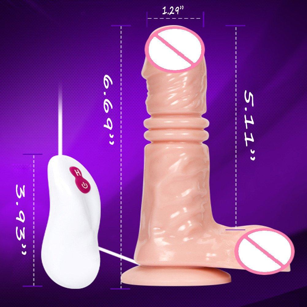 ZWXYA Empuja Juguetes eléctricos de la la de Novedad de Dildoz del Adulto con el Control Remoto de Swith Dildor 0359a4