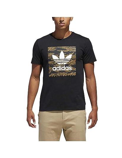 adidas Camiseta CAMO BB Negro T S: Amazon.co.uk: Shoes & Bags