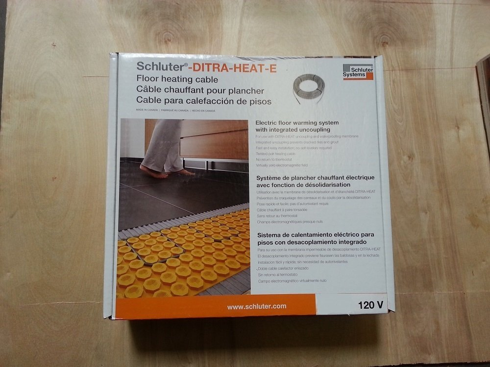 Ditra Heat Cable- Dhehk12016 - Schluter (120 V) by DITRA-HEAT (Image #1)