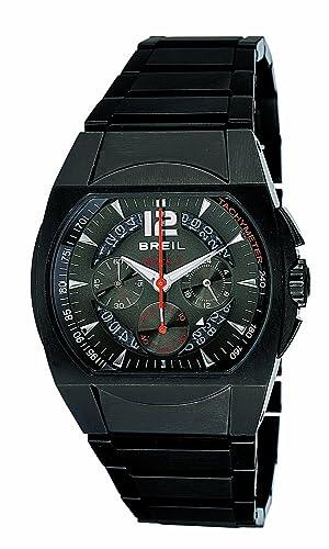 Breil Reloj analogico para Hombre de Cuarzo con Correa en Acero Inoxidable BW0173: Amazon.es: Relojes