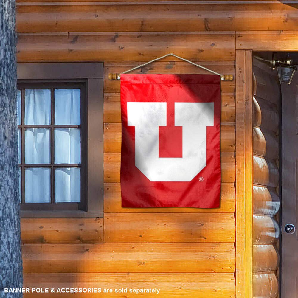 College Flags and Banners Co Utah Utes Banner House Flag