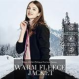 CAMEL CROWN Women Full Zip Fleece Jackets with Pockets Soft Polar Fleece Coat Jacket for Fall Winter Outdoor