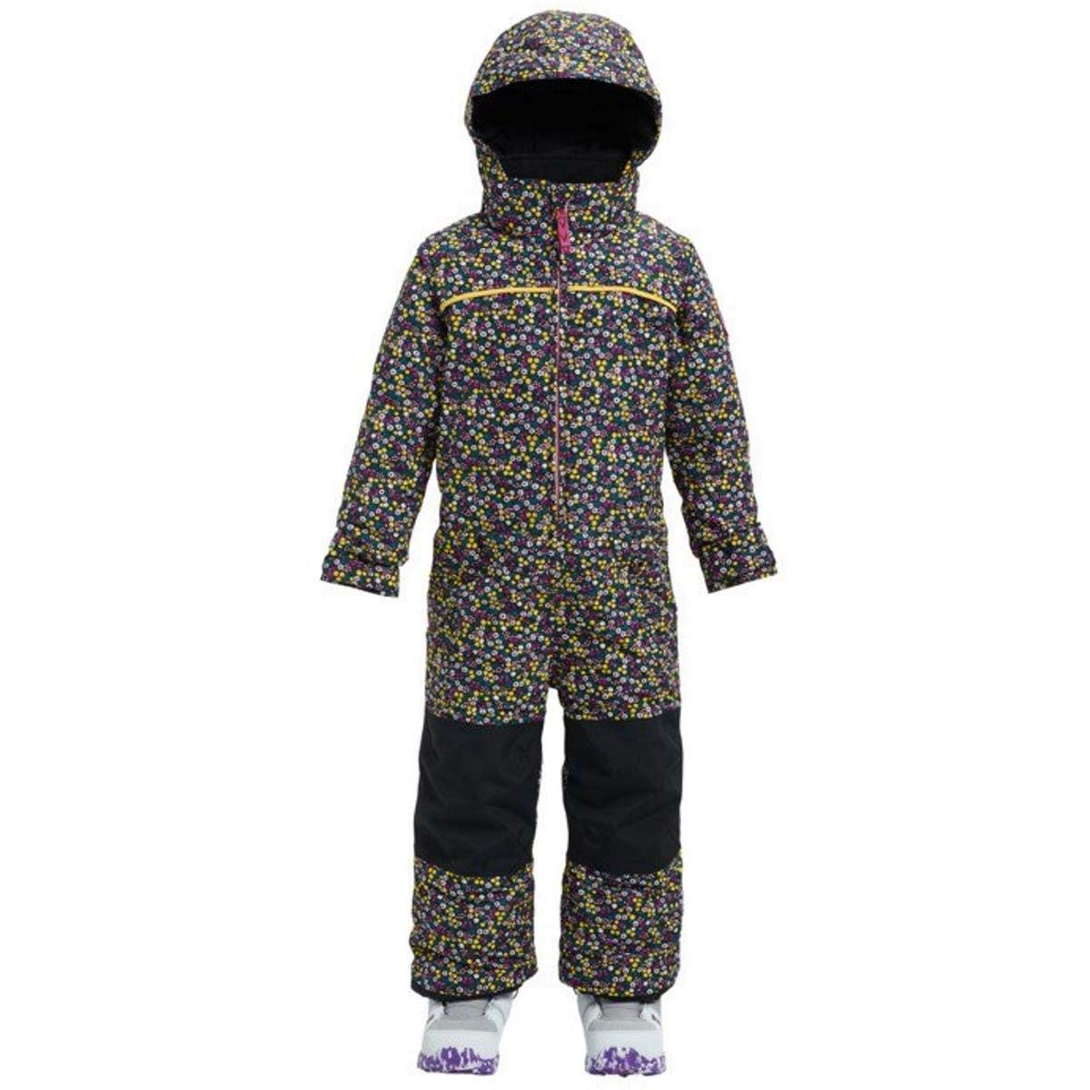 Burton Girls Minishred Illusion Onepiece, Forget Me Not, 18-24m