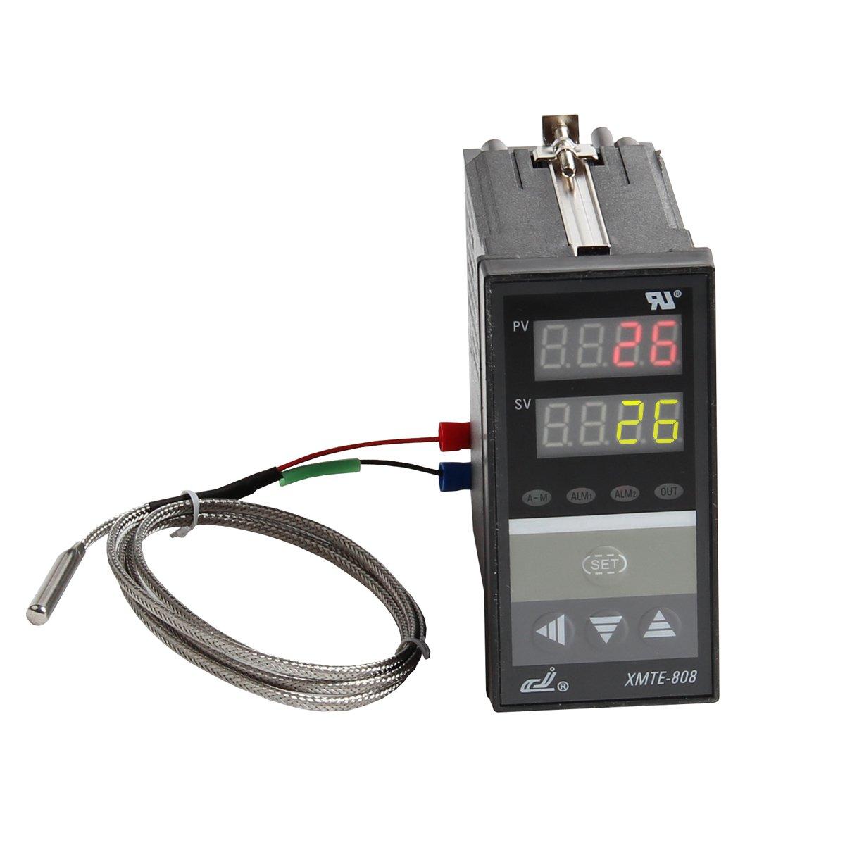 CJ XMTE-808 Relay Output Digital LED Pid Temperature Controller with K Sensor