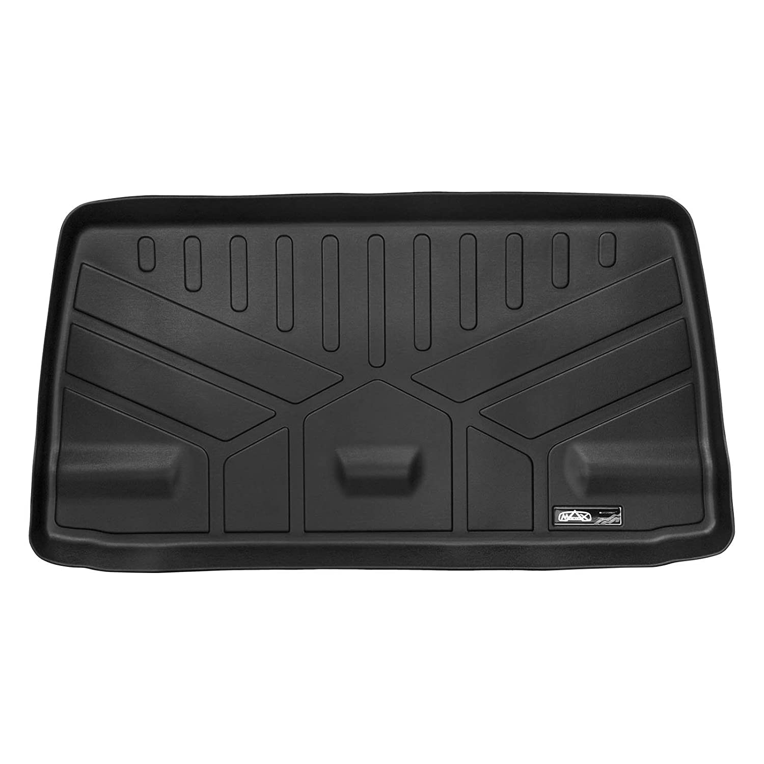 MAXLINER MAXTRAY All Weather Cargo Liner Floor Mat Behind 3rd Row Black for 2018 Honda Odyssey E0325