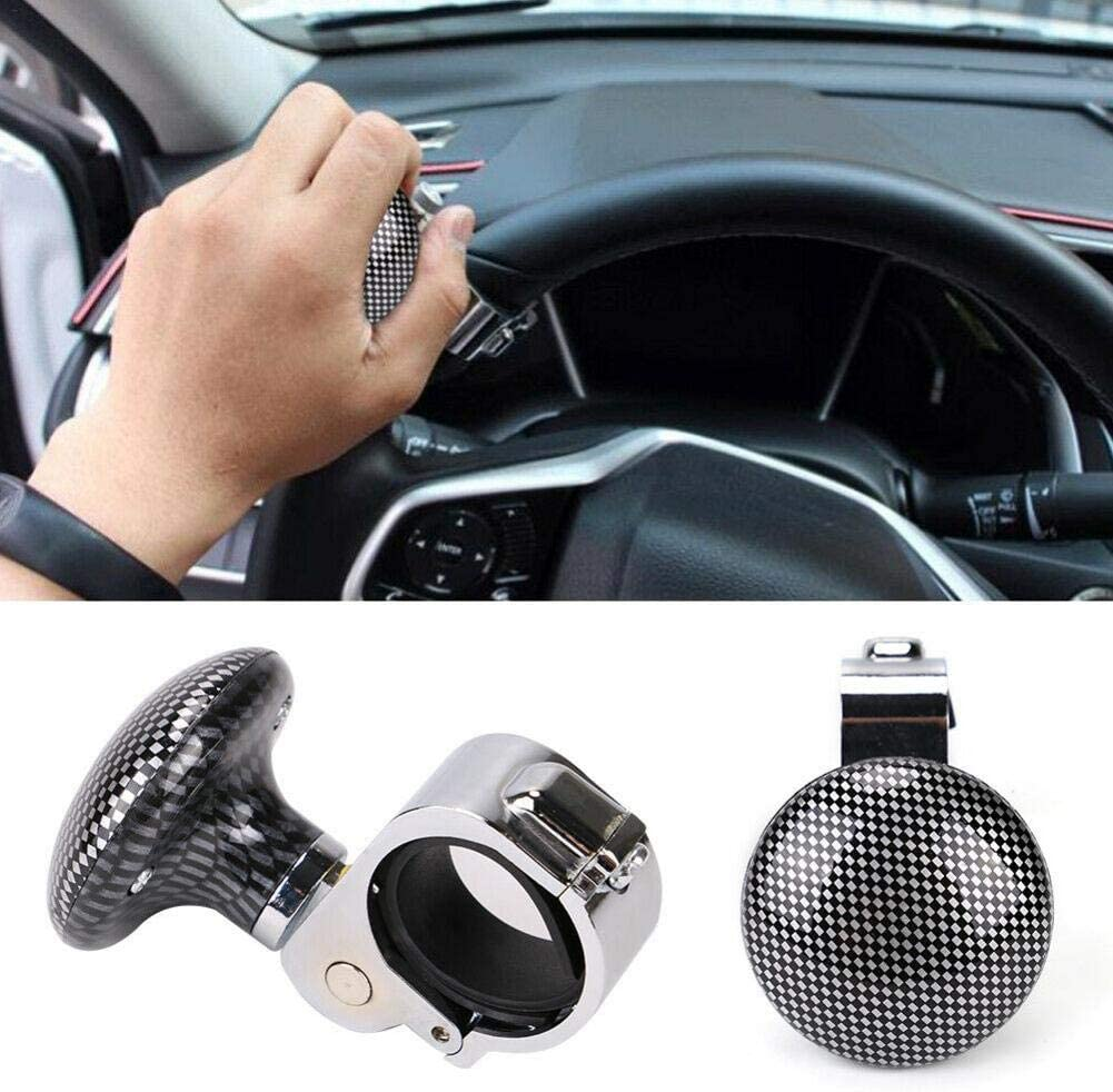 beautygoods Volant Bouton Spinner Puissance Boule Auxiliaire Booster Volant Power Ball Poign/ée pour Voiture V/éhicule approving